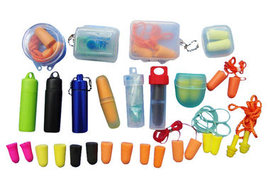 China Various Size Anti - Noise Ear Plugs , Silicone Ear Plugs For Sports supplier