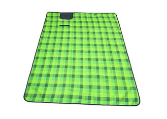 China 1.5*2*0.05m Green Color Outdoor Picnic Set With Fleece Material supplier