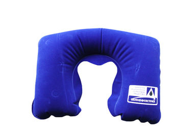 China Fresh Green Neck Pillow , Neck Support Travel Pillow For Airplanes supplier