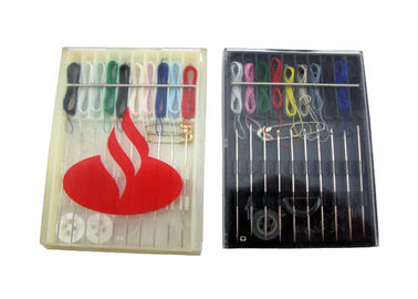 China Hotel Amenities Plastic Lightweight Disposable Mini Emergency Sewing Kit For Travel supplier
