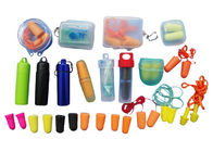 Good Quality Airline Amenity Kits & Various Size Anti - Noise Ear Plugs , Silicone Ear Plugs For Sports on sale