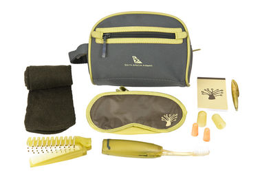 Travel Amenity Kits Portable Airline Amenity Kits For Hotel / Supermarket