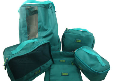 China Resuable Travel Garment Bag , Travel Packing Cubes For Packing Clothes factory
