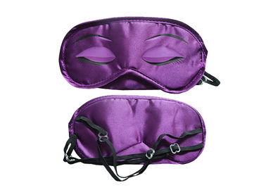 China Purple Elegant Small Sleeping Eye Shades Printing Eyes 0.3mm Thickness factory