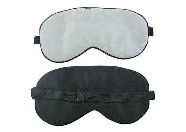 China Simple Adjustable Sleeping Eye Shades / Night Eye Blinders For Adults / Youths factory