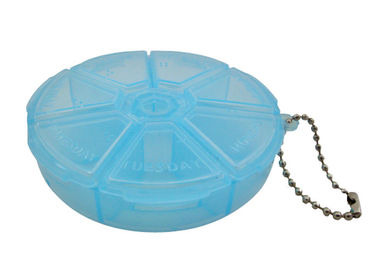 Eco Friendly Travel Storage Containers , Convenient Travel Pill Box
