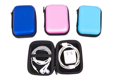 China Home Office Multi Function Earphone Carry Case With Print / Hang Tag Logo factory