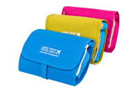 Foldable Travel Accessory Bag Polyester Oxford Cosmetic Bag For Vacation