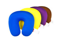 28*27CM Size Microbead Travel Neck Pillow With Customized Pattern / Color