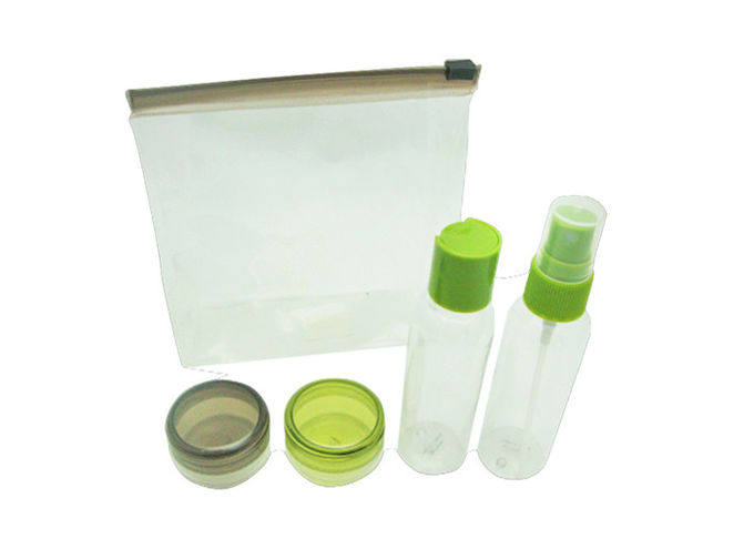 Well - Organized Airline Amenity Kits Travel Cosmetic Containers With Soft PVC Bag