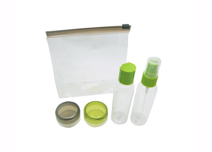 Economy Class Disposable Airline Amenity Kits / Airplane Travel Kits With PVC Bag
